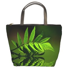 Leaf Bucket Bag by Siebenhuehner