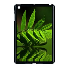 Leaf Apple Ipad Mini Case (black) by Siebenhuehner