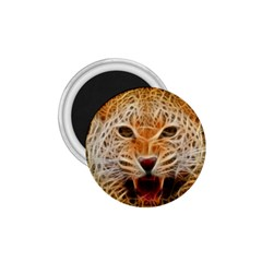 Jaguar Electricfied 1 75  Button Magnet by masquerades