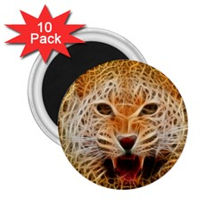 Jaguar Electricfied 2 25  Button Magnet (10 Pack) by masquerades