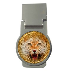 Jaguar Electricfied Money Clip (round) by masquerades