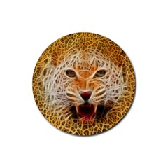 Jaguar Electricfied Drink Coaster (round) by masquerades