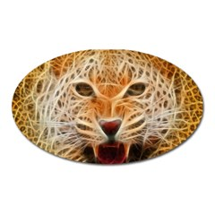 Jaguar Electricfied Magnet (oval) by masquerades