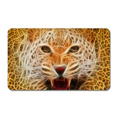 Jaguar Electricfied Magnet (rectangular) by masquerades