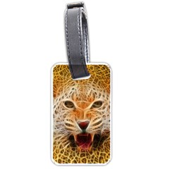 Jaguar Electricfied Luggage Tag (one Side) by masquerades