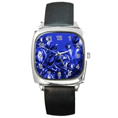 Magic Balls Square Leather Watch by Siebenhuehner