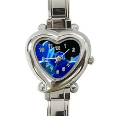 Waterdrop Heart Italian Charm Watch