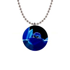 Waterdrop Button Necklace by Siebenhuehner