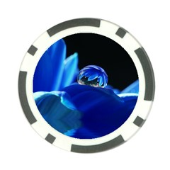 Waterdrop Poker Chip by Siebenhuehner