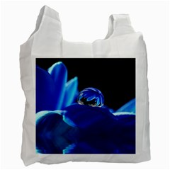 Waterdrop Recycle Bag (one Side) by Siebenhuehner