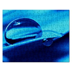 Waterdrops Jigsaw Puzzle (rectangle) by Siebenhuehner