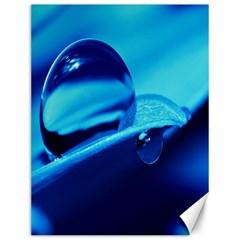 Waterdrops Canvas 12  X 16  (unframed) by Siebenhuehner