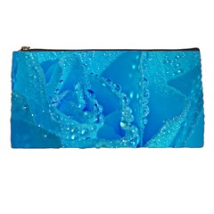 Blue Rose Pencil Case by Siebenhuehner
