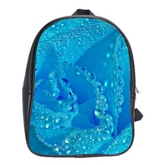 Blue Rose School Bag (large) by Siebenhuehner