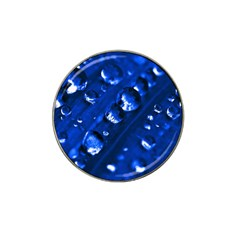 Waterdrops Golf Ball Marker 4 Pack (for Hat Clip) by Siebenhuehner