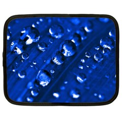 Waterdrops Netbook Case (xl) by Siebenhuehner