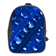 Waterdrops School Bag (xl) by Siebenhuehner