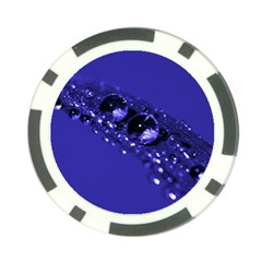 Waterdrops Poker Chip (10 Pack) by Siebenhuehner