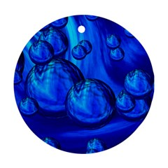 Magic Balls Round Ornament (two Sides) by Siebenhuehner