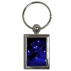 Blue Dreams Key Chain (rectangle) by Siebenhuehner