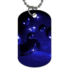 Blue Dreams Dog Tag (two Sided)