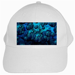 Magic Balls White Baseball Cap