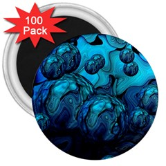 Magic Balls 3  Button Magnet (100 pack)