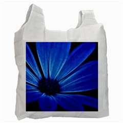 Flower Recycle Bag (one Side) by Siebenhuehner