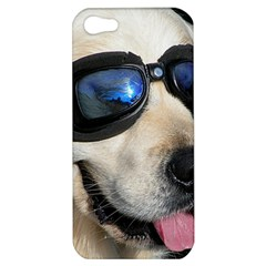 Cool Dog  Apple Iphone 5 Hardshell Case by Siebenhuehner