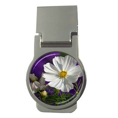 Cosmea   Money Clip (round)