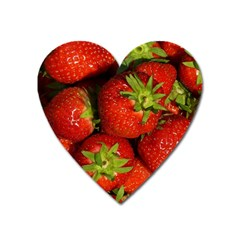 Strawberry  Magnet (heart)