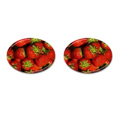 Strawberry  Cufflinks (oval)