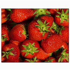 Strawberry  Canvas 8  X 10  (unframed)