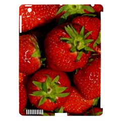 Strawberry  Apple Ipad 3/4 Hardshell Case (compatible With Smart Cover)