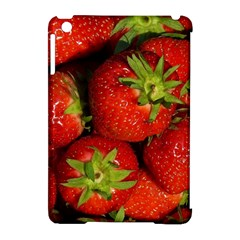 Strawberry  Apple Ipad Mini Hardshell Case (compatible With Smart Cover) by Siebenhuehner