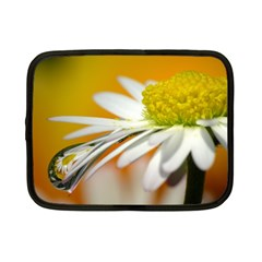 Daisy With Drops Netbook Case (small) by Siebenhuehner