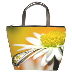 Daisy With Drops Bucket Bag by Siebenhuehner