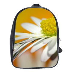 Daisy With Drops School Bag (large) by Siebenhuehner