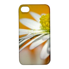 Daisy With Drops Apple Iphone 4/4s Hardshell Case With Stand by Siebenhuehner