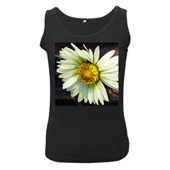 Daisy Womens  Tank Top (black) by Siebenhuehner