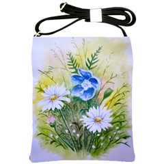 Meadow Flowers Shoulder Sling Bag
