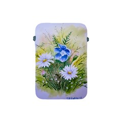 Meadow Flowers Apple Ipad Mini Protective Soft Case by ArtByThree