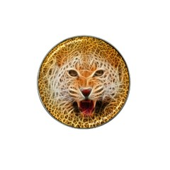 Electrified Fractal Jaguar Hat Clip Ball Marker