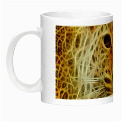 Electrified Fractal Jaguar Night Luminous Mug by TheWowFactor