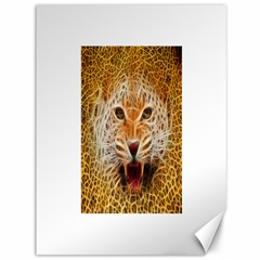 Electrified Fractal Jaguar Canvas 36  X 48  by TheWowFactor