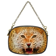 Electrified Fractal Jaguar Chain Purse (two Sides) by TheWowFactor