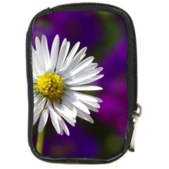 Daisy Compact Camera Leather Case by Siebenhuehner