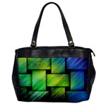 Modern Art Oversize Office Handbag (One Side) Front