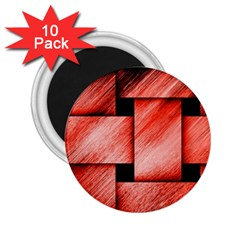 Modern Art 2 25  Button Magnet (10 Pack) by Siebenhuehner