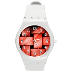 Modern Art Plastic Sport Watch (medium) by Siebenhuehner
